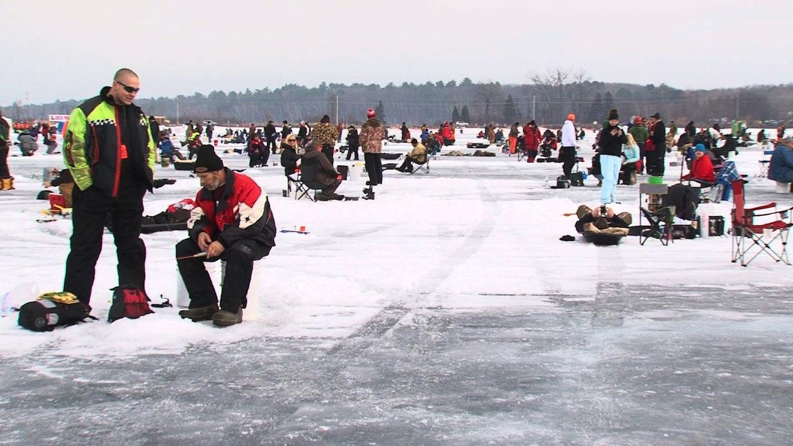 Northwoods adventure brainerd jaycees ice fishing for Brainerd ice fishing