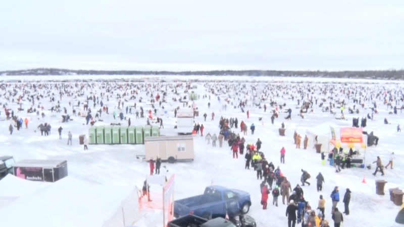 27th annual brainerd jaycees ice fishing extravaganza held