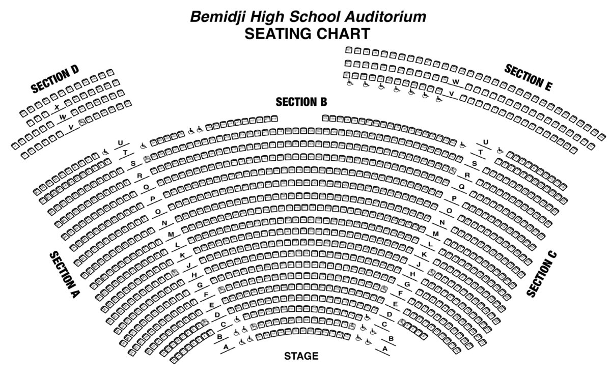 concert band seating chart