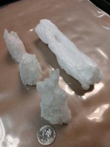 1.1 pounds of methamphetamine seized