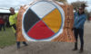 Protesters March Against Line 3 Pipeline During Indigenous Peoples' Day
